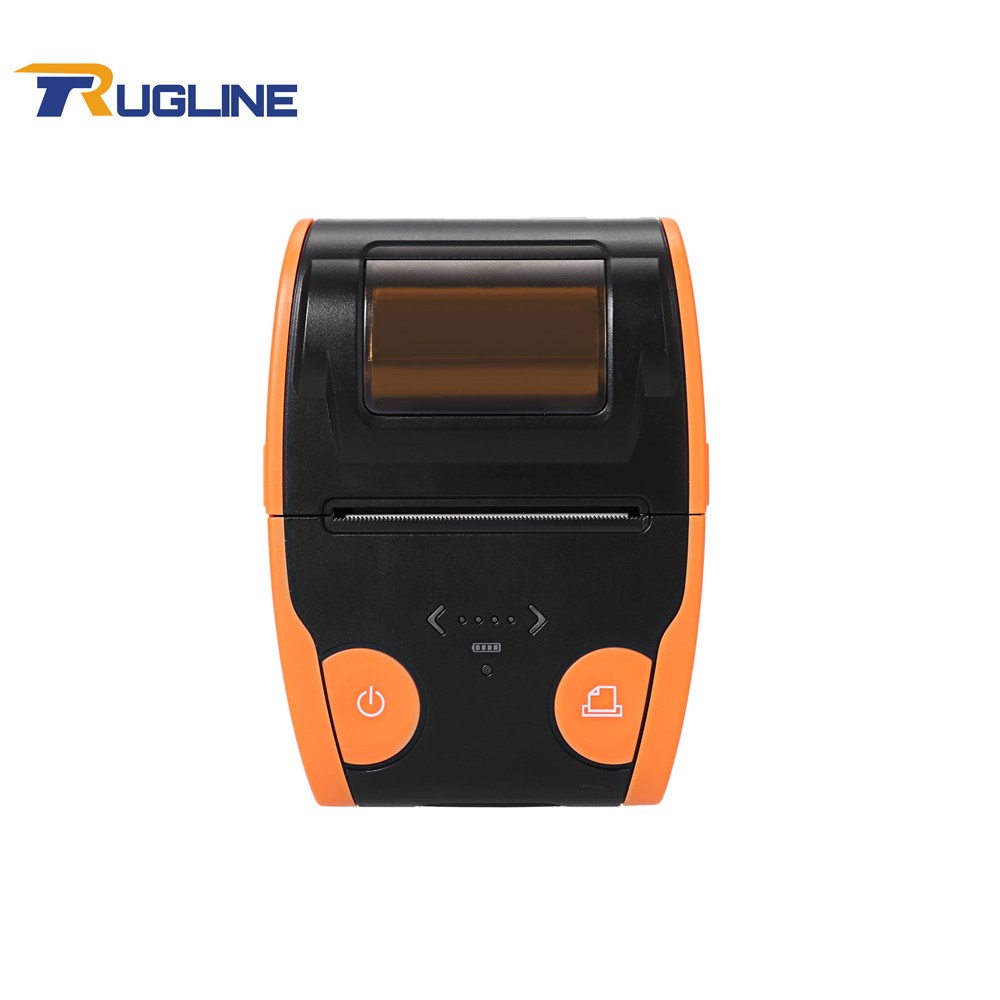 Free Shipping Wireless Mini Thermal Printer USB Bluetooth Label 58mm Thermal Paper Printer used free shipping pressure lever spring compatible zebra 105sl thermal label printer printer part printing accessories