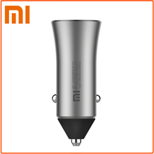 Original Xiaomi Car Charger Metal Casing Dual USB Ports 18W Quick Charger for smart Phones Tablet PC for Samsung iPhone