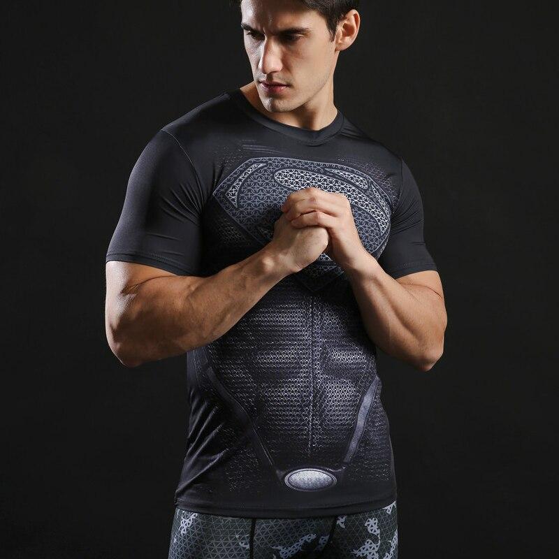 Zootop Bear Pánské elastické tričko Superman černé logo  7cc4cf2a43