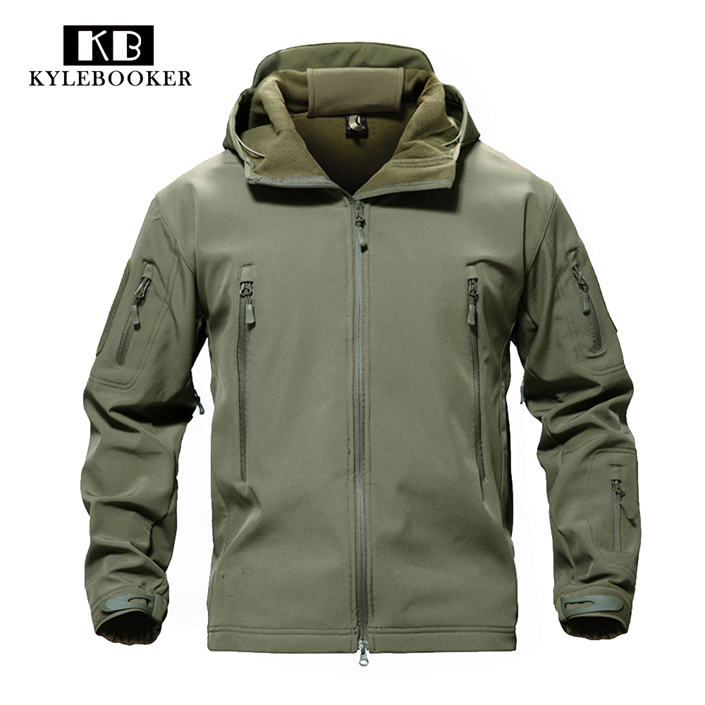 Fly Fishing Soft Shell Lurker Shark Jacket Men Outdoor Hunting Jacket Hiking Waterproof Colthing Windproof Outerwear Coat