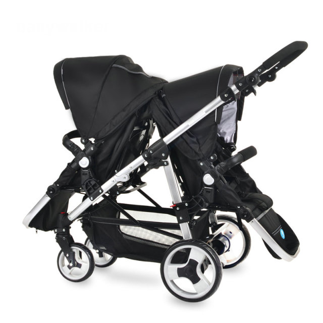 0-60month twins baby cart hot sale unique twins baby stroller of high quality comfortable folded stroller
