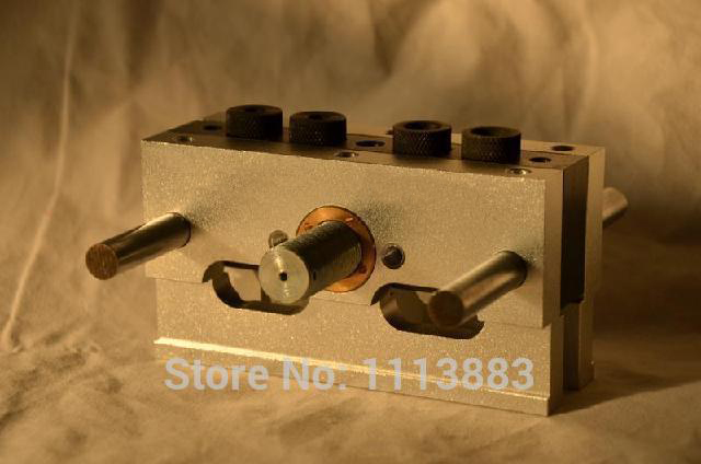 High Precision CNC Machining Self-Centering Dowel Jig Dowelling Jig With 3 Metric Drill Sizes(6mm,8mm,10mm)