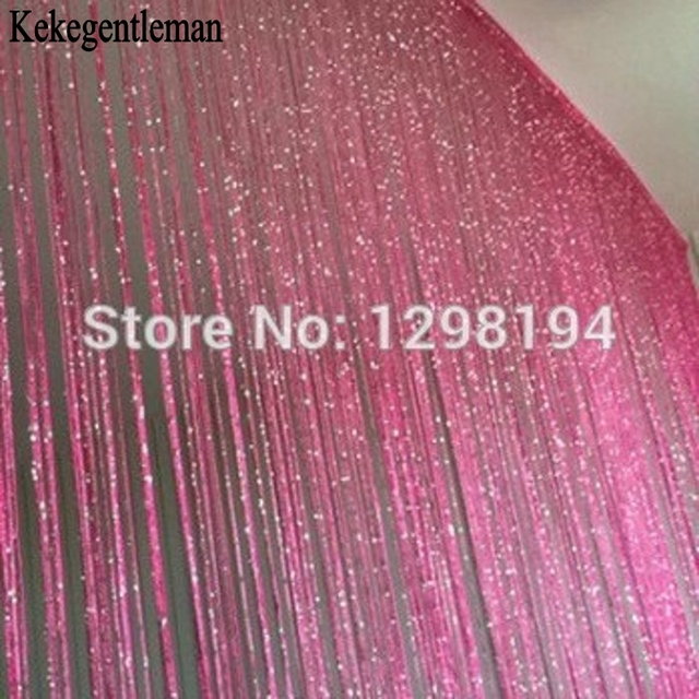 Decorativo in argento string tenda 200*100 cm/300*300 cm porta finestra della te