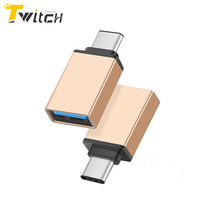 USB OTG Type C Male To USB Type C Converter Adapter For Samsung Note 7 Huawei