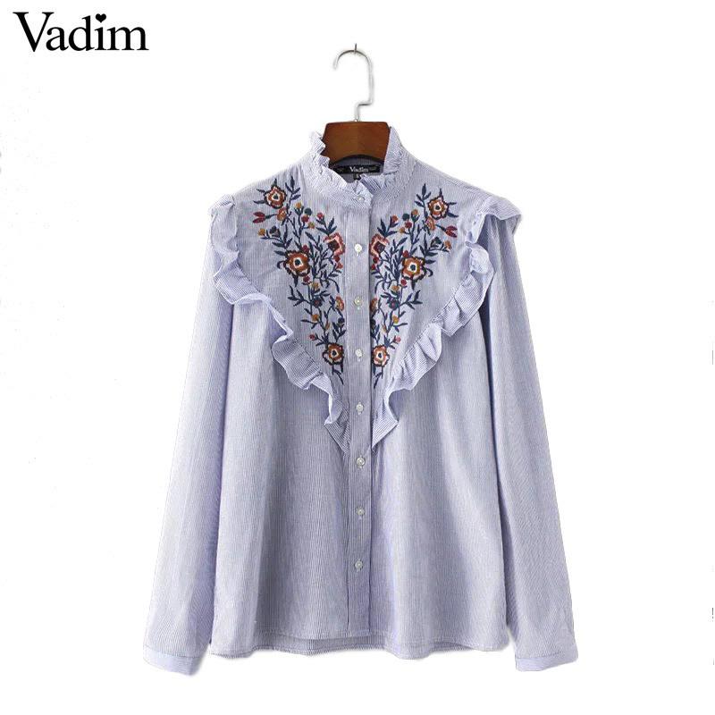 HTB1uH.VRVXXXXXbXVXXq6xXFXXX1 - Women vintage floral embroidery cotton long sleeve