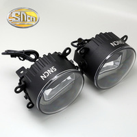 Safety Driving 30W Highlight LED Chip Car Double Guide Light Daylight FogLight Fog Lamp For Acura