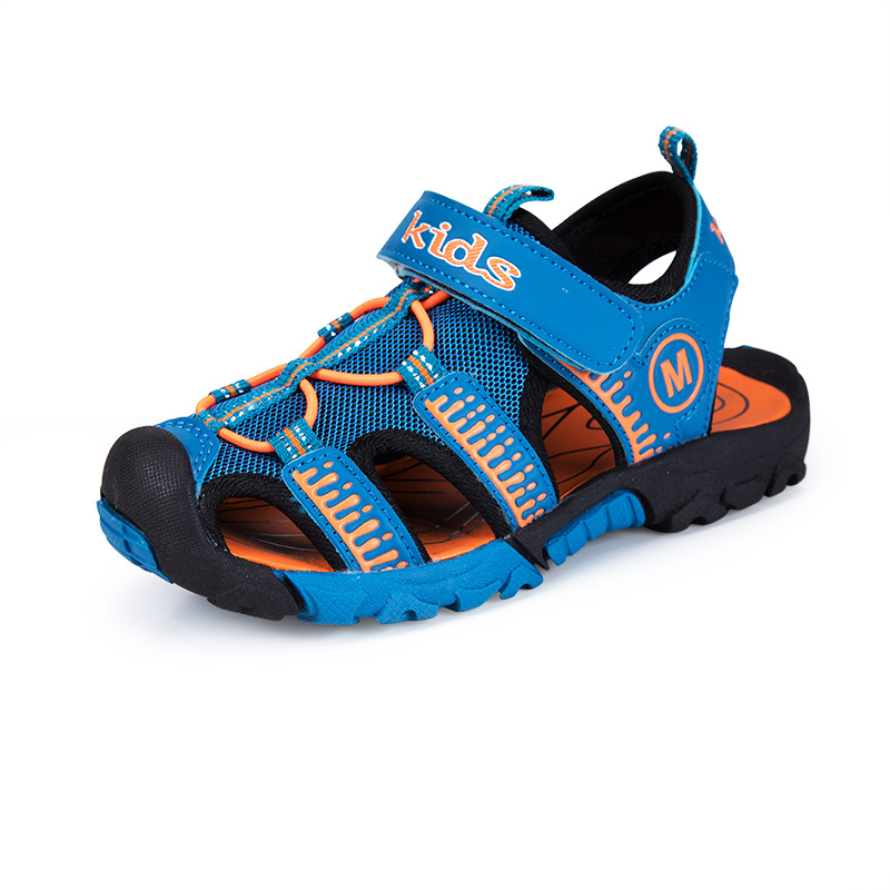 2018 New Kids Gladiator Sandals Girl Boy Summer Breathable Antiskid Flats Casual Beach Shoes Kawaii Pu Leather Toddler Sandalias