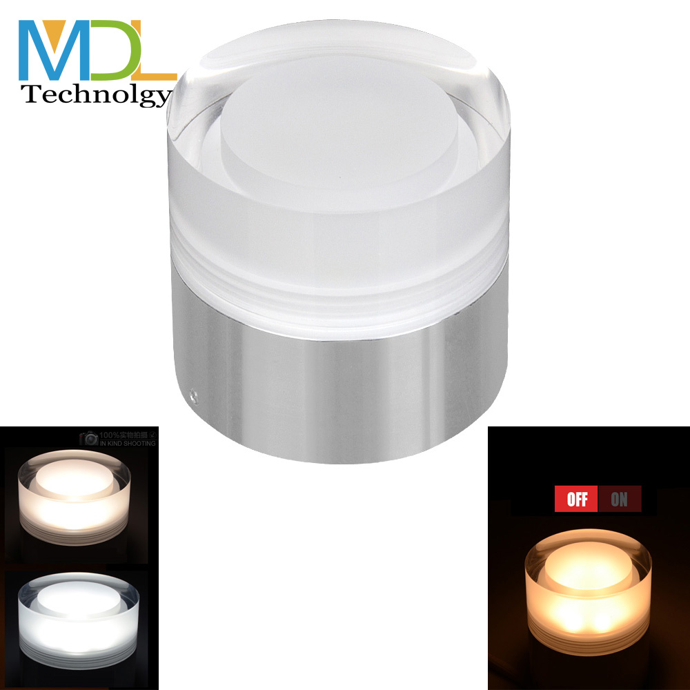 Lustre Crystal Led Downlight 3w 5w 7w Surface Mounted Ceiling Lamp 90-260V Indoor Decor Fixture Warm White Led Spot <font><b>Light</b></font> driver