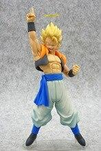 Anime Dragon Ball Z Gogeta Vegeta Sohn Goku Fusion Engel Aura Super Saiyan Schokolade Figuration Com Action Figure PVC DBZ modell
