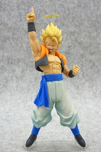 Image 1 - Anime Dragon Ball Z Gogeta Vegeta Son Goku Fusion Angel Aura Super Saiyan Chocolate Figuration Com Action Figure PVC DBZ Model