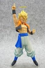Figuras de acción de Dragon Ball Z, Gogeta, Vegeta, Son Goku, Fusion, Angel Aura, Super Saiyan, Chocolate, modelo DBZ en PVC