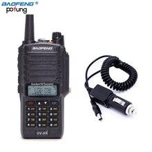 Baofeng UV-XR 10 W de Alta Potencia 4800 mAh Batería Antidust IP67 A Prueba de agua Walkie Talkie de Doble Banda de Radio de Dos Vías + un Cable de Carga Del Coche