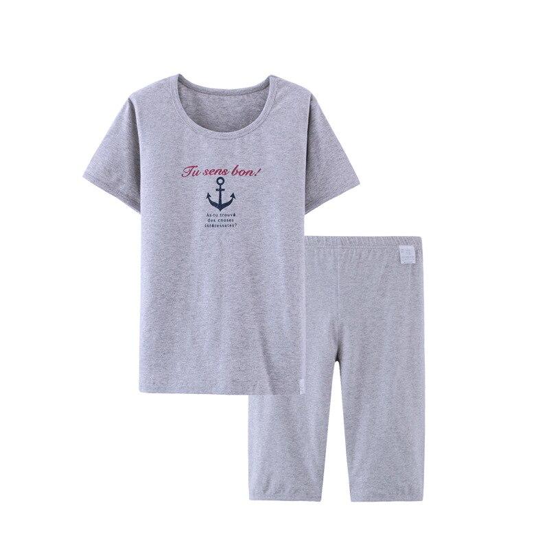 Boys Clothing Kids Clothes Casual Cotton Children Outfit Sailor   Pajamas     Set   Homewear Short Sleeve T Shirt Middle Pants 3-16Y