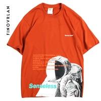 Summer 2019 T Shirt Streetwear Harajuku Japanese astronaut T Shirt Hip Hop Japan Style Tshirt Cartoon HipHop Tops Tees Cotton