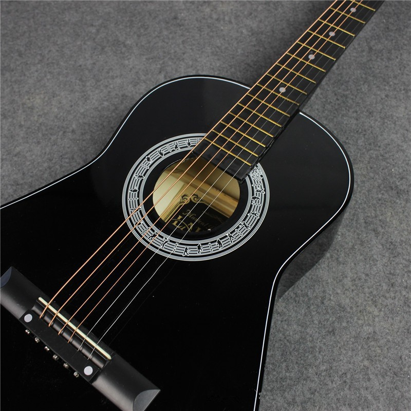 hot 36 acoustic guitar 36 7 guitarra musical instruments with guitar strings in guitar from. Black Bedroom Furniture Sets. Home Design Ideas