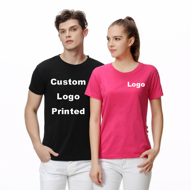 Custom t shirt Logo Text Photo Print Women Personalized Team Family  Customized Printed Promotion AD Apparel Camisa Tees