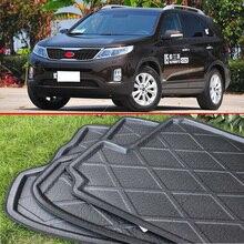 For Kia Sorento 2013 2014 Rubber Foam Trunk Tray Liner Cargo Mat Floor Protector