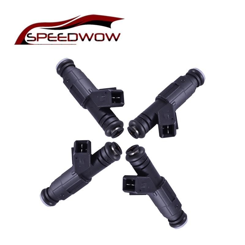 цена на Speedwow 4pcs High Impedance 850cc Fuel Injector 1Hole High Quality Nozzle EV1 New performance