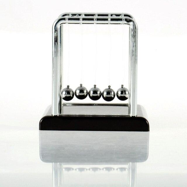Newton teaching Science Desk toys Cradle Steel Balance Ball Physic School Educational Supplies High Quality