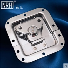 NRH 6101A cold rolled steel DJ cabinet butterfly latch high quality a pair of recessed butterfly latch for transport case latch