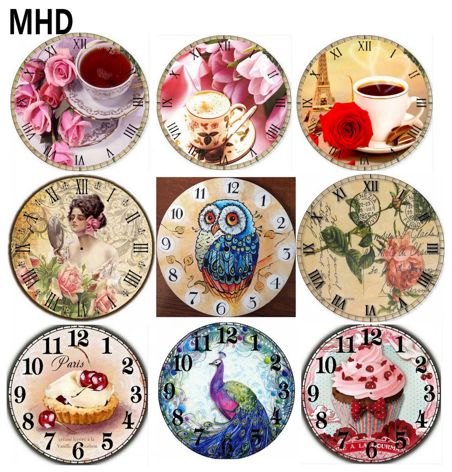 MHD 3D Full Square & Round Diamond Embroidery Wall Clock Icon Diamond Paintings 5d diy Diamond Cross Stitch Mosaic 24 Wall Clock