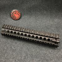 9 Inch CNC MK18 RisII Picatinny Handguard Tactical Rail For Jinming Gen9 J9 Water Gel Ball Blaster Airsoft AEG