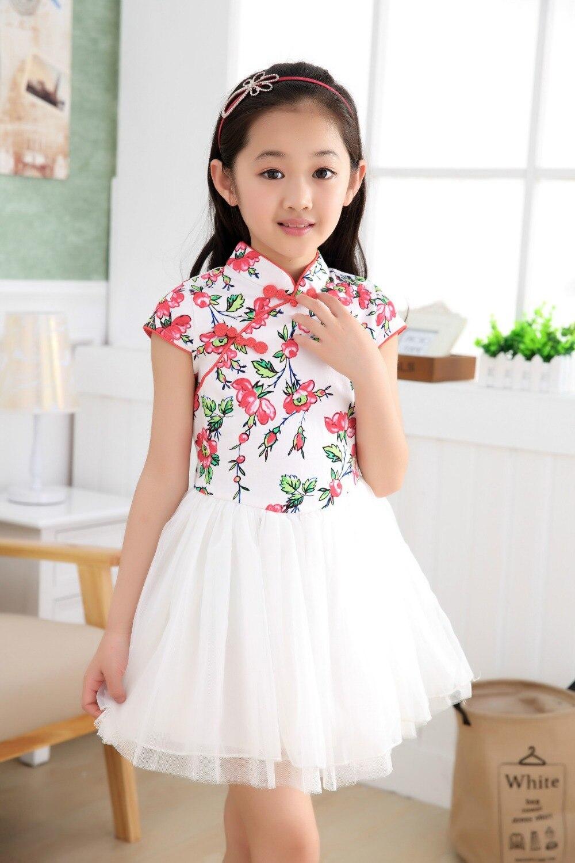 Online Shop Flower Girl Dresses Classical Floral with Rose Petal ...