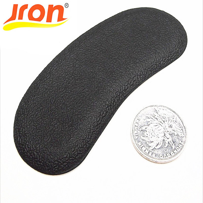 10 Pair PU Foot Care Feet Insole Invisible Cushion Black Silicone Gel Anti-Slip Heel Liner Shoe Pad 2 pcs foot care insoles invisible cushion silicone gel heel liner shoe pads heel pad foot massage womens orthopedic shoes z03101