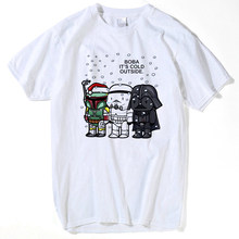 Funny T Shirt Men Vader Bjj Star Wars Brazilian Jiu Jitsu Top Fun T-Shirt Judo Short Sleeve Tee Short Sleeve Clothes hip hop(China)