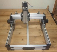 Not Assembled! Openbuilds OX CNC router MECHANICAL KIT with 4 pcs Nema 23 stepper motor Working Size 300mm x 520mm