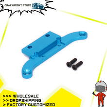 Depan Pelat Atas Radio Tray Mounting Plate untuk RC Hobby Mobil 1/16 HSP Monster Truck & Short Course 86006 Aluminium big Foot S-Cours(China)