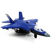 F35B Alloy Fighter Model Toys 4 Styles Colorful Airplane Aircraft Diecast Metal Simulation Fighter Toys For