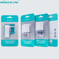 NILLKIN Original 6.5 V 3A Carga Rápida 3.0 Do Telefone Móvel Carregador Rápido Power Adapter EUA UE REINO UNIDO Travel Plug Power Parede Carregador USB