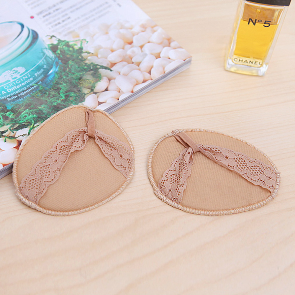 1 Pair 2Pcs Thickening Soft Forefoot Pad Flip Heel Invisible High Heeled Shoes/Slip Resistant Half Yard Pads Worldwide sale high heeled shoes forefoot pad silica gel half yard pad transparent insole thickening slip resistant pad