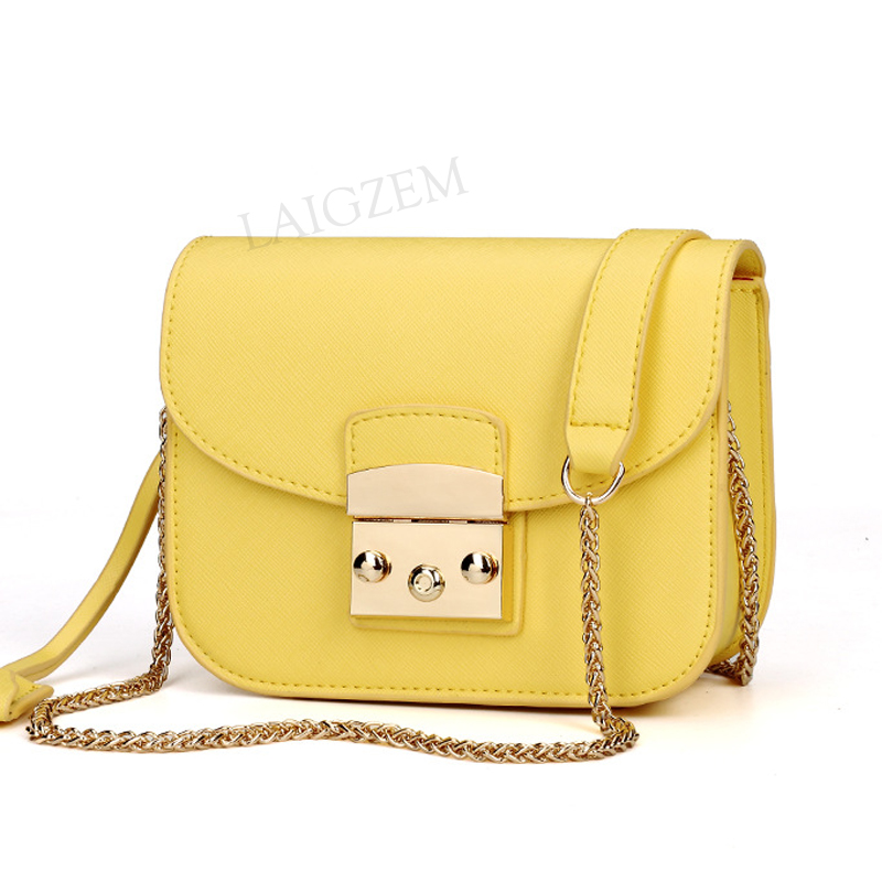 BERZIMER Elegant Women Shoulder Bags Beautiful Black Yellow Orange Red Blue Rose Pink Crossbody Bags For Women Bolsos Mujer