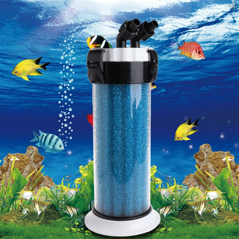 Aquarium Pre Filter External Sponge Barrel For Fish Tank QZ-30 Turtle Box Device Fish Aquatic Pet Filters