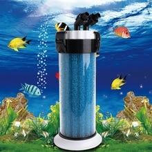 수족관 사전 필터 물고기 탱크 QZ 30 거북이 상자 장치에 대한 외부 스폰지 배럴 물고기 수생 애완 동물 필터