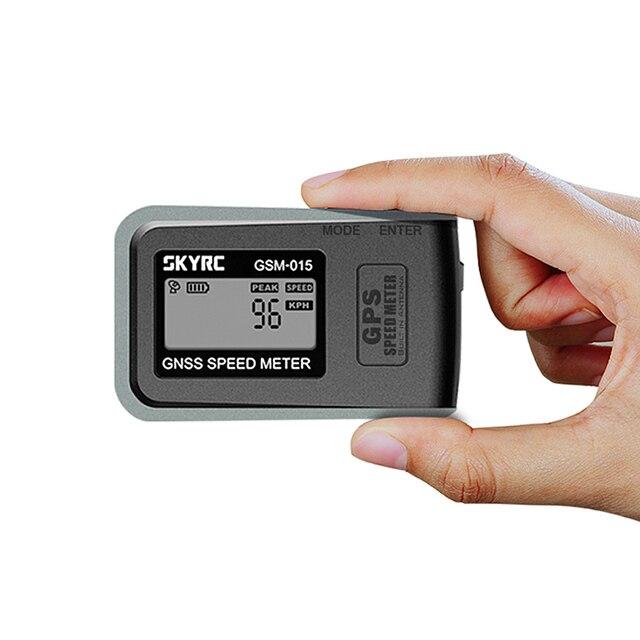 SKYRC velocímetro de alta precisión para Dron, GSM 015 GNSS, GPS, multirrotor, avión, helicóptero
