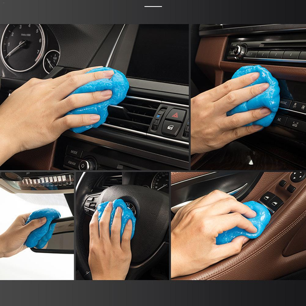 Image 3 - Car Air Vent Cleaning Glue Slime Jelly Gel Compound Dust Wiper Cleaner or Laptop PC Computer Keyboard Car Interior Cleaner Tool-in Sponges, Cloths & Brushes from Automobiles & Motorcycles