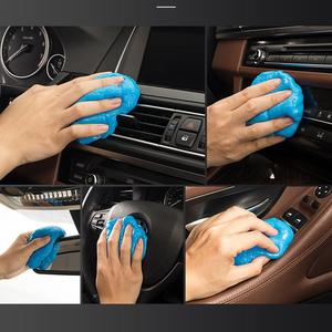 Image 3 - Car Air Vent Cleaning Glue Slime Jelly Gel Compound Dust Wiper Cleaner or Laptop PC Computer Keyboard Car Interior Cleaner Tool