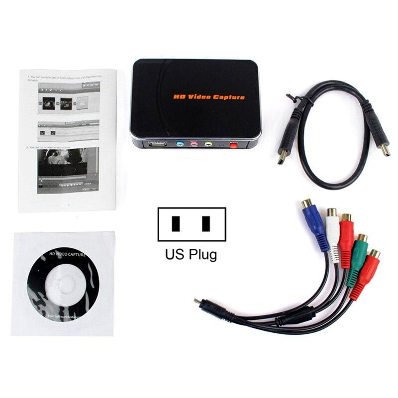 Nouvel enregistreur vidéo HD 1080 P HDMI Compatible avec Windows 7/8 prise US