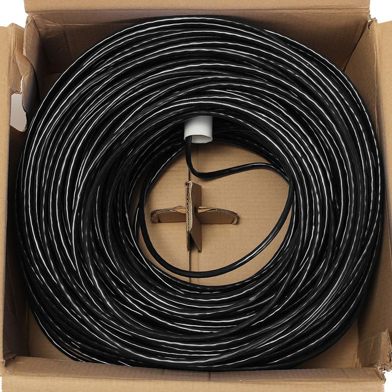 CAT5 5e 8 Pin Ethernet Cables 100M Intertek High Speed LAN Network Cable UTP Copper Core Wire Twisted Pair Internet Cable for PC