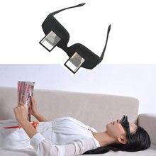 a7c10cf073 Divertido perezoso periscopio lectura Horizontal TV sentarse vista gafas en  cama por cama prisma gafas periódico perezoso gafas