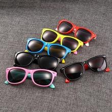 Фотография TOP Polarized Kids Sunglasses Boys Girls Baby Infant Sun Glasses 100% UV400 Eyewear Child Shades Oculos Infantil