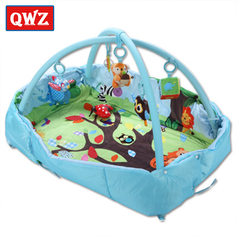 OWZ Beka Patti squirrel square bed baby game blanket bracket crawling mat Baby Activity Gym educational toys animal rattle toy patti smith patti smith easter
