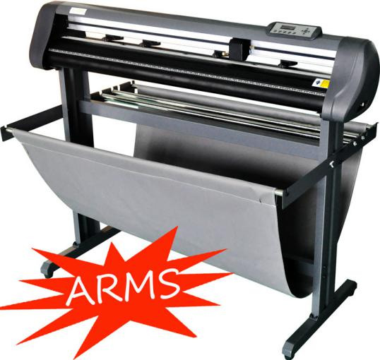ARMS vinyl cutter CE ROSH 48ABJ 2017 top selling Plotter for vinyl cutter Contour cut plotter