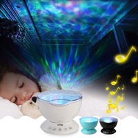 2017 New Funny Ocean Starry Sky Atmosphere Night Light With Speaker Projector Apply To Kids Room