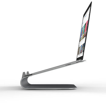 Laptop Cooling Stand   WIWU 10-17.3 Inch Laptop Stand Rotating Base Stand For MacBook Air Pro Ergonomics Aluminum Alloy Laptop Cooling Holder