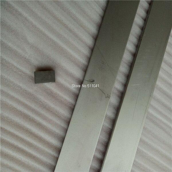 2pcs ASTM B348 Titanium Grade 2 Flat Bar 3mm*30mm*1000mm , Paypal is available