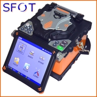 RY F800D Fusion Splicer For FTTx Application Precise and Fast Fusing, SM, MM Fiber Splicer